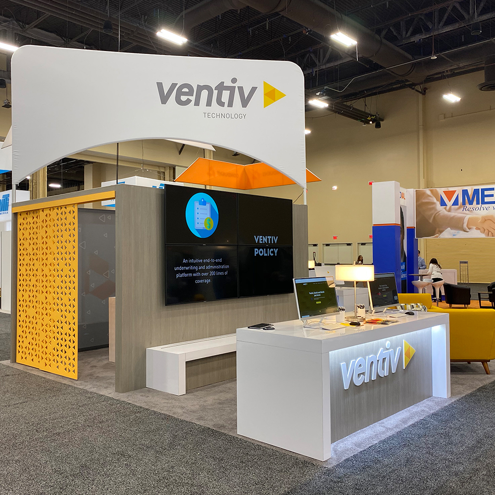Ventiv Technology Exhibit Booth