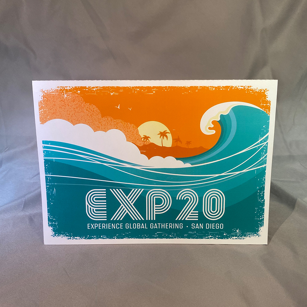 Experience Conference San Diego Invite
