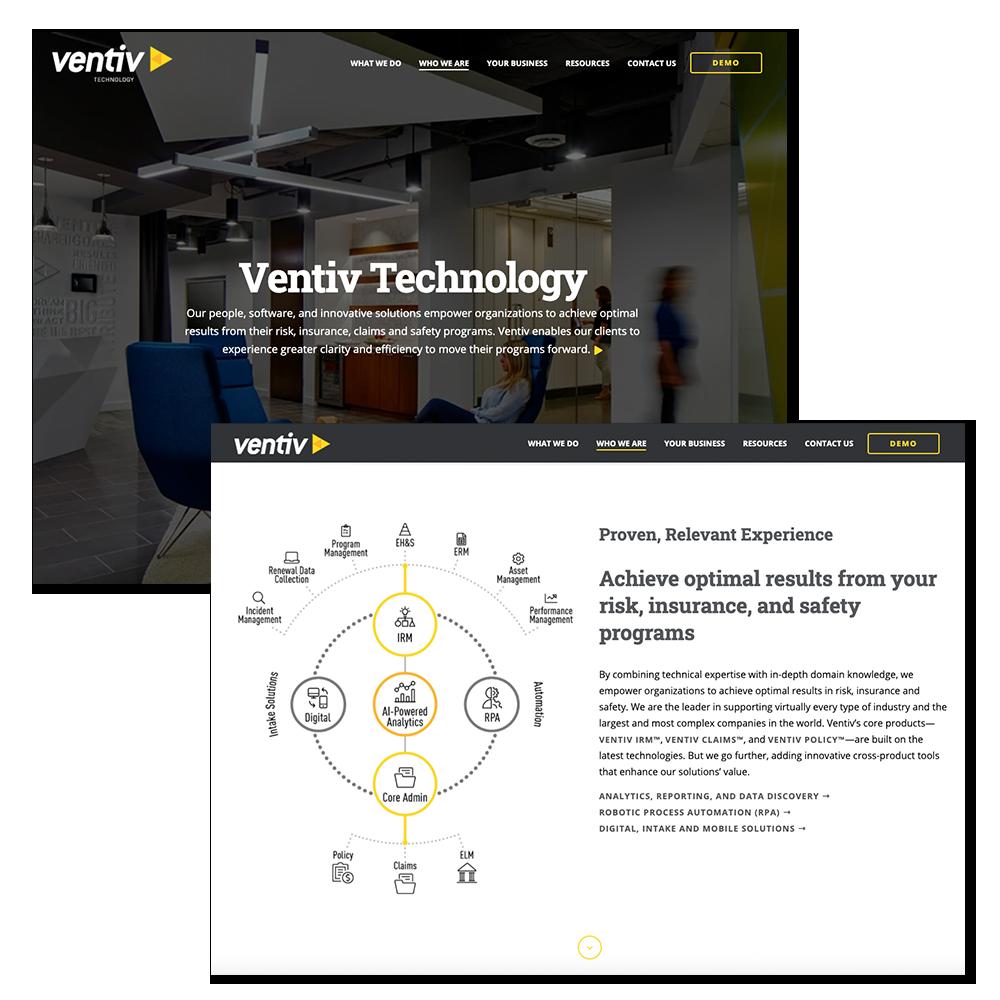 Ventiv Technology Website
